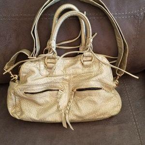 Linea Pelle Cross Body Handbag Purse Satchel